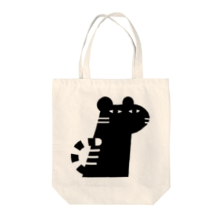 ANIMALシリーズ とら Tote bags