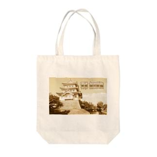 日本の城:忍城 Japanese castle: Oshi Castle Tote bags