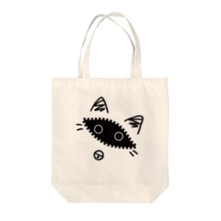 覗き猫 Tote bags