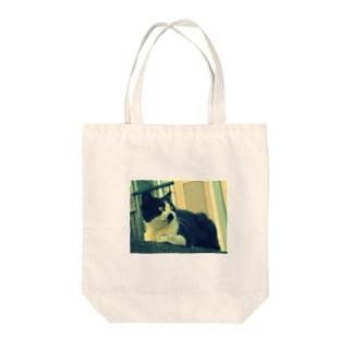 野良猫さん Tote bags