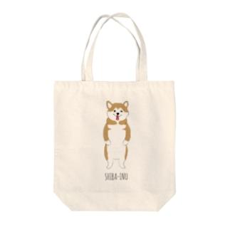 赤柴ちゃん! Tote bags