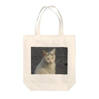 前髪の猫 トートバッグ