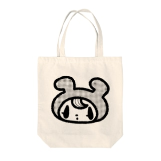 ドンナコ・ショップ SUZURI出張店のきぐるみくん(トートバッグ) Tote bags