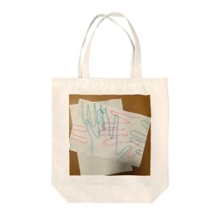 て・て・て Tote bags