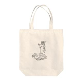ピンク・ヴィーナスの誕生 Tote bags