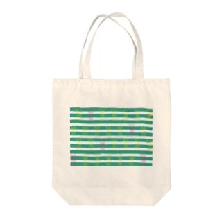 pine Tote bags