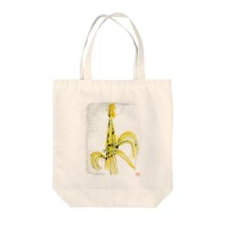 トウモロロシ Tote bags