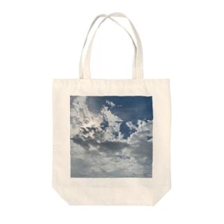 お天気雨(画像拡大版) Tote bags