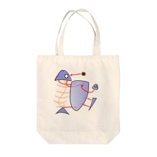 魚プラモ Tote bags
