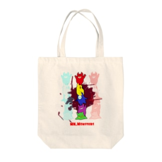 MNモンスターズ Tote bags