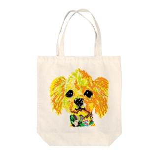 愛犬自己満足 Tote bags