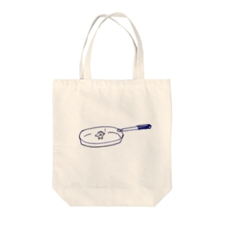 気づくザラシ Tote bags