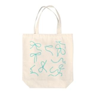 ほどける Tote bags