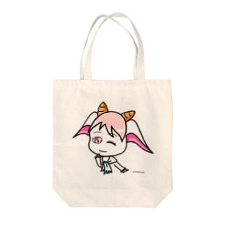 こかげのやぎ Tote bags