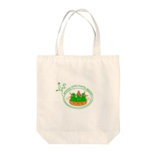 食べ盛り Tote bags