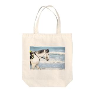 馬と海 トートバック Tote bags