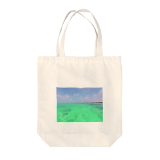 SUP*マリンブルー Tote bags