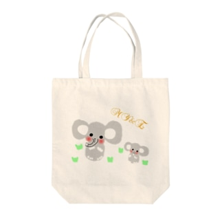 Family×elephant Tote Bag