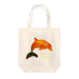 Your my dolphin  Tote bags
