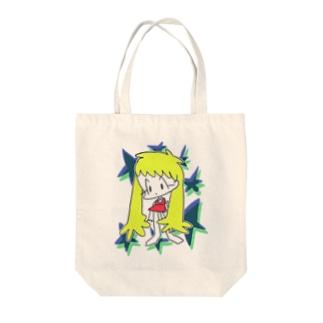星きらり Tote bags