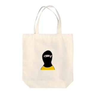 めざし帽 Tote bags