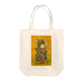 苔むした戦士モゴル Tote bags