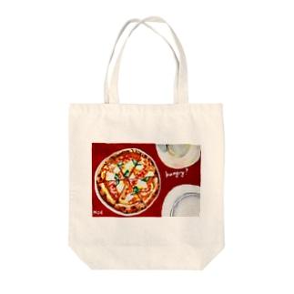 ピザ Tote bags