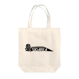 つばきねこ510AREA Tote bags