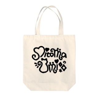 NEW三苫ロゴ Tote bags