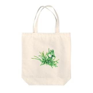 雑草 Tote bags