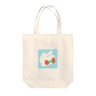 トンボネコ Tote bags