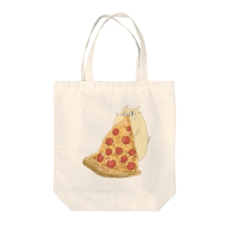 pizza time(ぐーにゃん) Tote bags