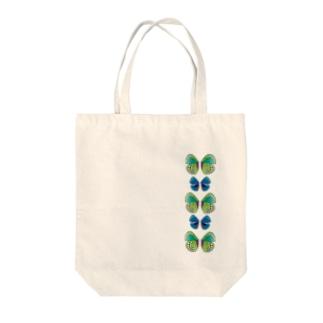 胡蝶 Tote bags