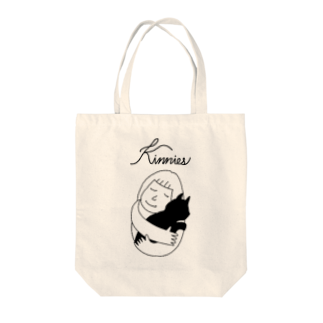 Kinniesのキニトート(ロゴA)-トートバッグ Tote bags