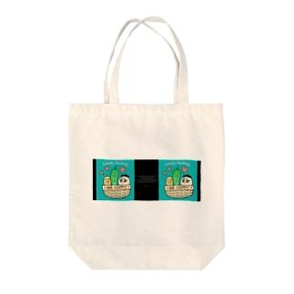 Lovely Mushrey : Be happy2 Tote bags