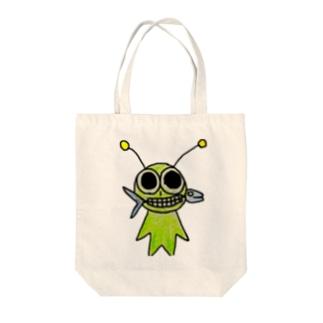 山田みどり Tote bags