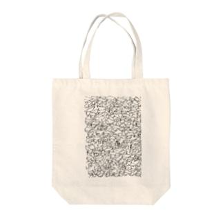 考えごとをしているときの紙(A4) Tote bags