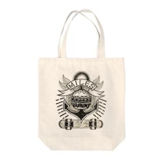 MILES Tote bags