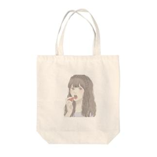 いちご🍓 Tote bags