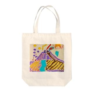 お絵かき Tote bags