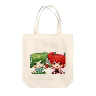 かぐらちゃん 1 Tote bags
