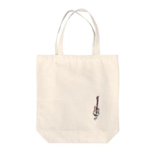 GUITAR侍 Tote bags