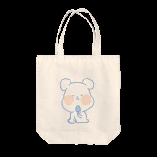 Toma_ganchanのゆるいクマ Tote bags