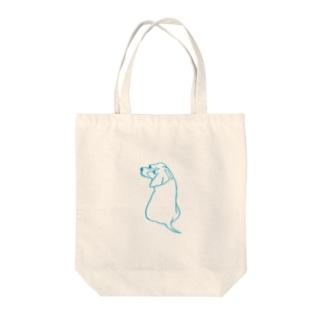 inu_beagle Tote bags