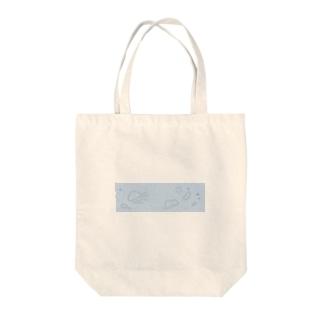 水分多めのクラゲ Tote bags