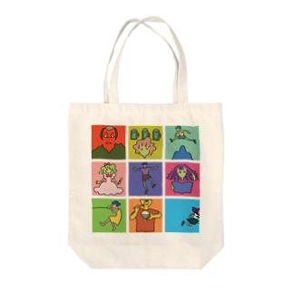 イラストタイルそのいち Tote bags