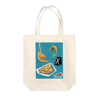 現場のpizza Tote bags