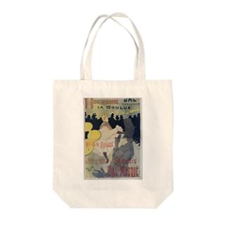 Poster for 'Le Moulin Rouge', Henri de Toulouse-Lautrec Tote bags