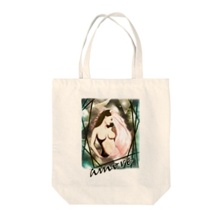 Mulher hermosa : amore Tote bags