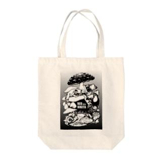 扉絵(モノクロver) Tote bags